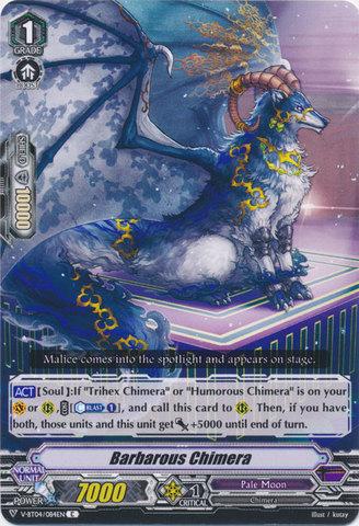 Barbarous Chimera - V-BT04/084EN - C