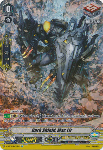Dark Shield, Mac Lir - V-BT04/Re:02EN - SP