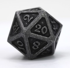 Big D20 - Mythica Dark Iron