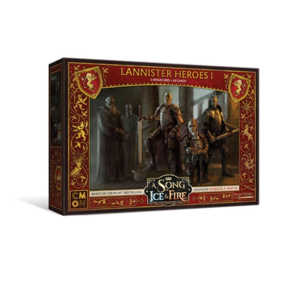 A Song Of Ice And Fire: Tabletop Miniatures Game - Lannister Heroes #1