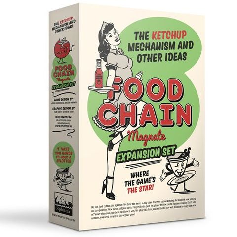 Food Chain Magnate: The Ketchup Mechanism And Other Ideas Expansion Set