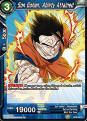 Son Gohan, Ability Attained - BT6-032 - C - Pre-release