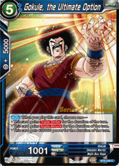 Gokule, the Ultimate Option - BT6-038 - C - Pre-release (Destroyer Kings)