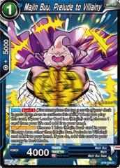 Majin Buu, Prelude to Villainy - BT6-046 - C - Pre-release (Destroyer Kings)