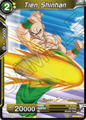 Tien Shinhan - BT6-090 - C - Pre-release (Destroyer Kings)
