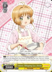 Sakura: Whipping Up a Storm - CCS/WX01-006 - RR