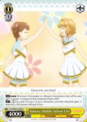 Sakura: Middle School Life - CCS/WX01-014b - U