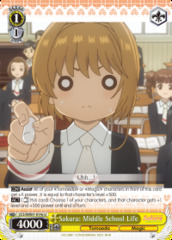 Sakura: Middle School Life - CCS/WX01-014c - U