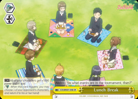 Lunch Break - CCS/WX01-030 - CR
