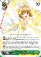 Cardcaptor Sakura: RECORD - CCS/WX01-034 - RR