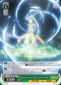 Syaoran: Ice God, Come Forth! - CCS/WX01-050 - C