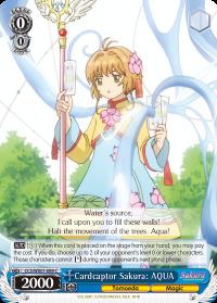 Cardcaptor Sakura: AQUA - CCS/WX01-089 - C
