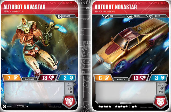 Autobot Novastar // Search and Rescue