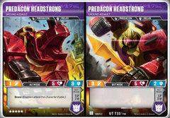 Predacon Headstrong // Ground Assault