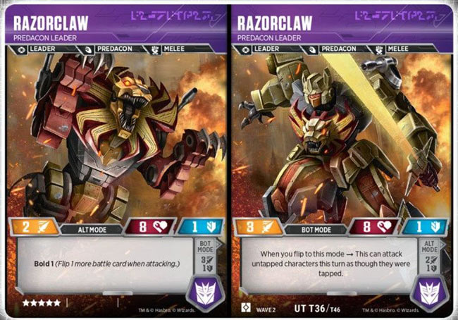 Razorclaw // Predacon Leader