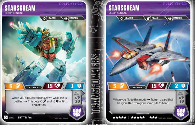 Starscream // Decepticon King
