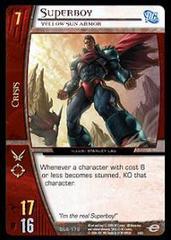 Superboy, Yellow Sun Armor - Foil