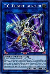 T.G. Trident Launcher - SAST-EN050 - Secret Rare - Unlimited Edition