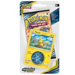 Pokemon SM10 Unbroken Bonds Checklane Blister Pack - Pikachu