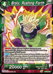 Broly, Rushing Forth - SD8-03 - ST - Parallel Foil on Channel Fireball