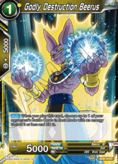 Godly Destruction Beerus - SD8-10 - ST - Parallel Foil