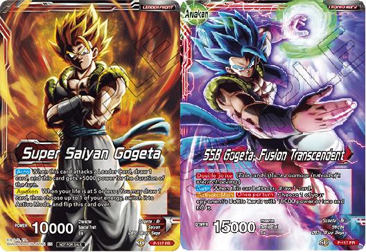 Super Saiyan Gogeta // SSB Gogeta, Fusion Transcendent - P-117 - PR