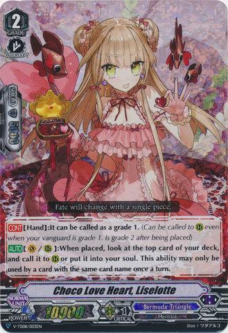 V-TD08/003EN - RRR Foil - Choco Love Heart, Liselotte
