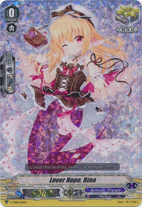 Lover Hope, Lina - V-TD08/012EN - RRR - Foil