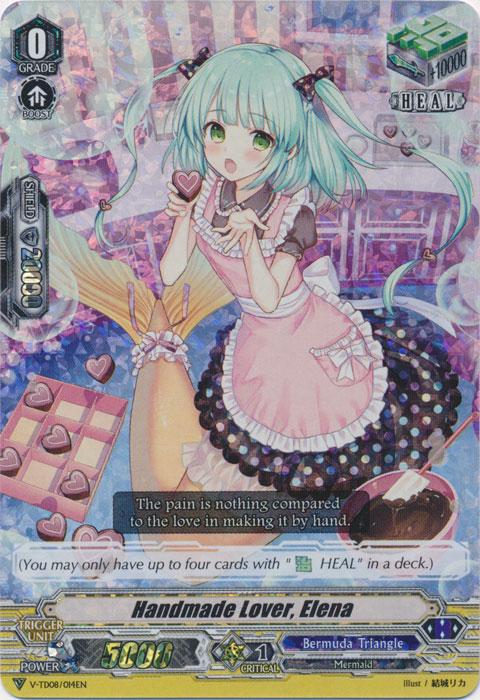 Handmade Lover, Elena - V-TD08/014EN - RRR - Foil