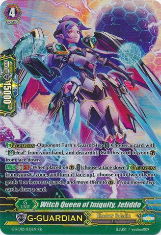 Witch Queen of Iniquity, Jeliddo - G-RC02/035EN - RR
