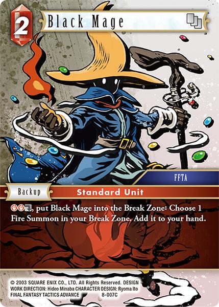 Black Mage - 8-007C