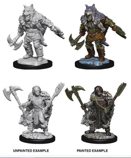 Nolzurs Marvelous Miniatures - Male Half-Orc Barbarian