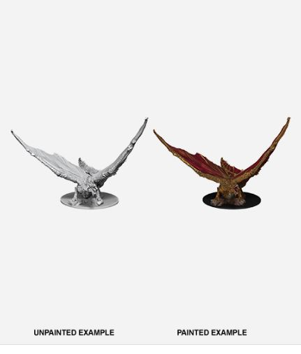 D&D Nolzurs Marvelous Miniatures - Young Brass Dragon