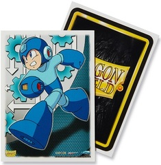 Dragon Shield 100ct Standard Sleeves - Classic Mega Man