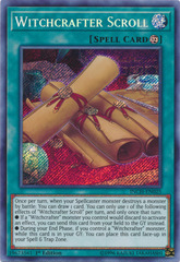 Witchcrafter Scroll - INCH-EN025 - Secret Rare - 1st Edition