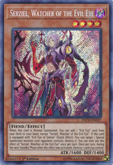 Serziel, Watcher of the Evil Eye - INCH-EN027 - Secret Rare - 1st Edition