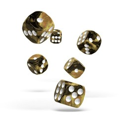 Oakie Doakie Dice - D6 Gemidice Hornet 16mm Set of 12 (ODD410036)