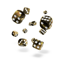 Oakie Doakie Dice - D6 Gemidice Hornet 12mm Set of 36 (ODD400036)