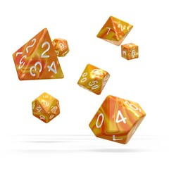 Oakie Doakie Dice - RPG-Set Gemidice Sunstone