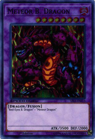Meteor B. Dragon - SBLS-EN013 - Super Rare - 1st Edition