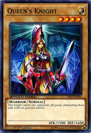 Queens Knight - SBLS-EN004 - Common - 1st Edition