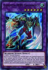 Elemental HERO Grandmerge - DUPO-EN004 - Ultra Rare - 1st Edition