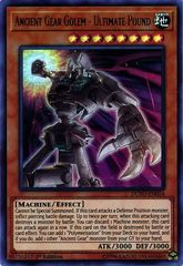 Ancient Gear Golem - Ultimate Pound - DUPO-EN054 - Ultra Rare - 1st Edition on Channel Fireball