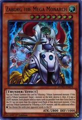 Zaborg the Mega Monarch - DUPO-EN079 - Ultra Rare - 1st Edition