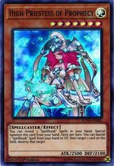 High Priestess of Prophecy - DUPO-EN081 - Ultra Rare - 1st Edition