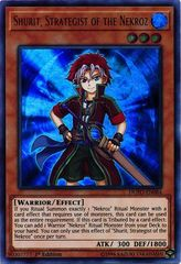 Shurit, Strategist of the Nekroz - DUPO-EN084 - Ultra Rare - 1st Edition