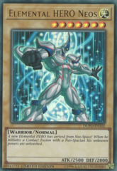 Elemental HERO Neos - DUPO-EN102 - Ultra Rare - Limited Edition on Channel Fireball