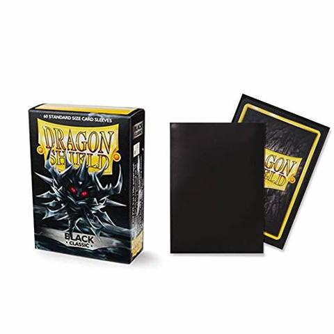 Dragon Shield Classic: Black - 60ct