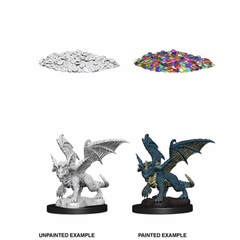 Nolzur's Marvelous Miniatures - Blue Dragon Wyrmling (Wave 10)