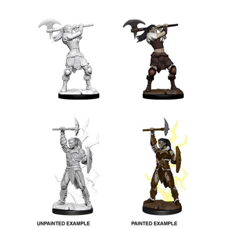 Nolzurs Marvelous Miniatures - Female Goliath Barbarian